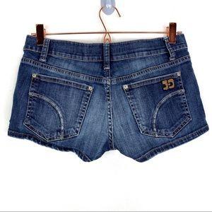 Joe's Raw Jean Short Mid Rise Blue Wash Size 26